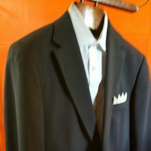 Hugo Boss Bertolucci 40L Mens Charcol suit jacket